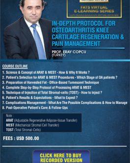 In-depth Protocol for Osteoarthritis Knee Cartilage Regeneration & Pain Management