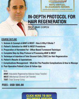 In depth Protocol for Hair Regeneration